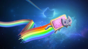 Nyancat le chat arc-en-ciel